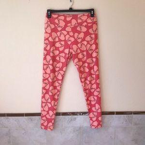 Lularoe Leggings Tall & Curvy Pink Hearts Love 💕